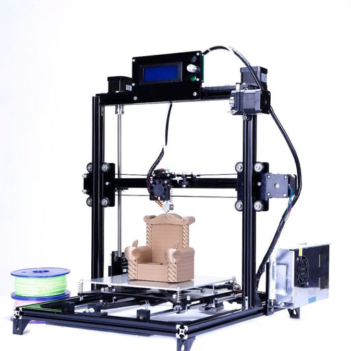 Flsun Large size 3d Printer 300x300x420mm Auto Level Touch Screen Daul Extruder DIY 3D Printer Kit Heated Bed - Stander Printer - 3D