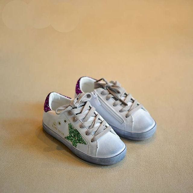 Girls Sport shoes - Green / 1 - Sneakers