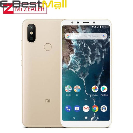 Global Version Xiaomi Mi A2 Lite 4GB 64GB 5.84 19:9 Full Screen Snapdragon 625 Octa Core AI Dual Camera Smartphone Android OS - mobile phone