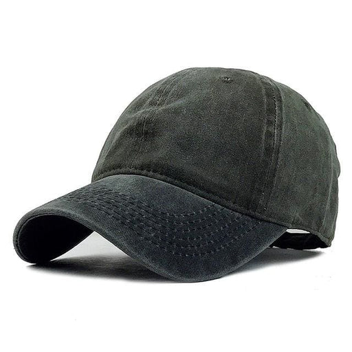 Golf cap For Men / Women - Black Green / Adjustable - Golf Cap