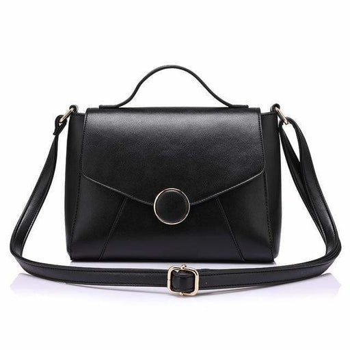 Handbags For women 2018 famous brands high quality shoulder bag fashion zipper crossbody bag women messenger bags - Black / China - Handbags