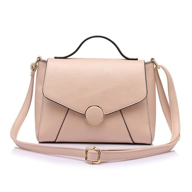 Handbags For women 2018 famous brands high quality shoulder bag fashion zipper crossbody bag women messenger bags - Pink / China - Handbags