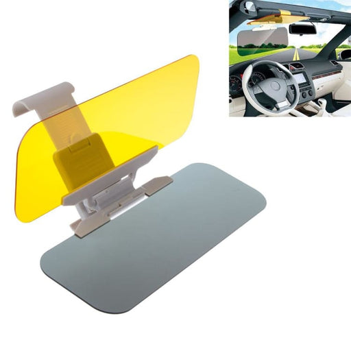 HD Car Sun Visors Goggles Day and Night Anti-dazzle Mirror Clear View - Sun Visors