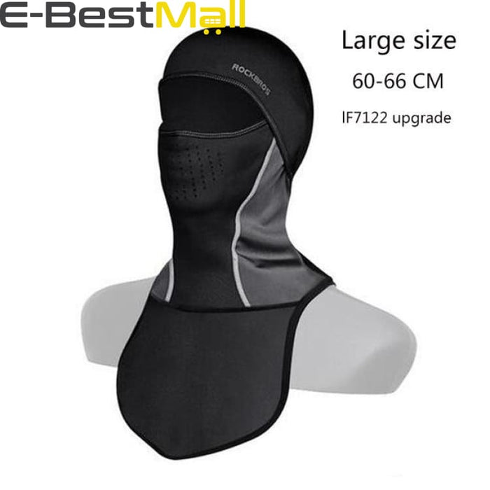 Hiking Thermal Headwear With Mask - LF7122BL - Hiking Cap