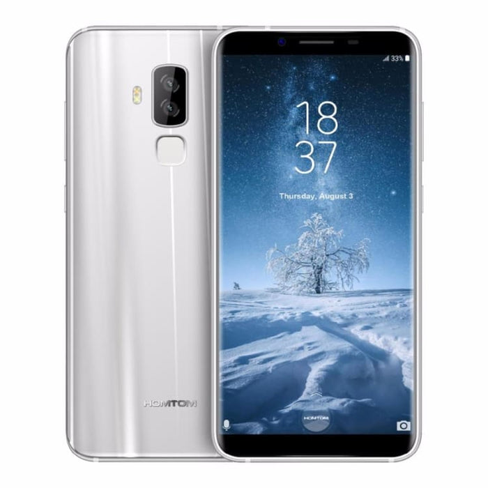 HOMTOM S8 4G Android 7.0 4GB+64GB MTK6750T Octa Core Smartphone Dual Back Cameras 5.7 inch HD Cell Phone LTE - Smartphone