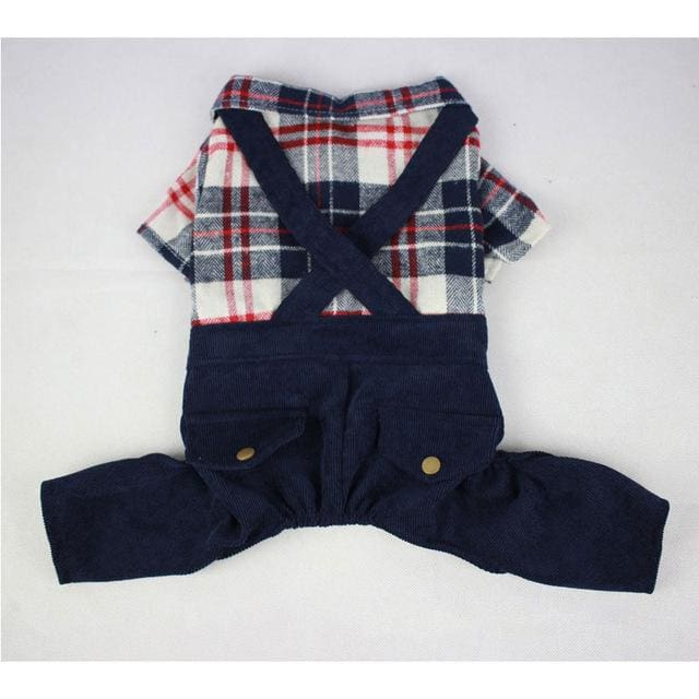 Jumpsuit For Small Dog Puppy - Dark Blue / S - Jumpsuit For Dog