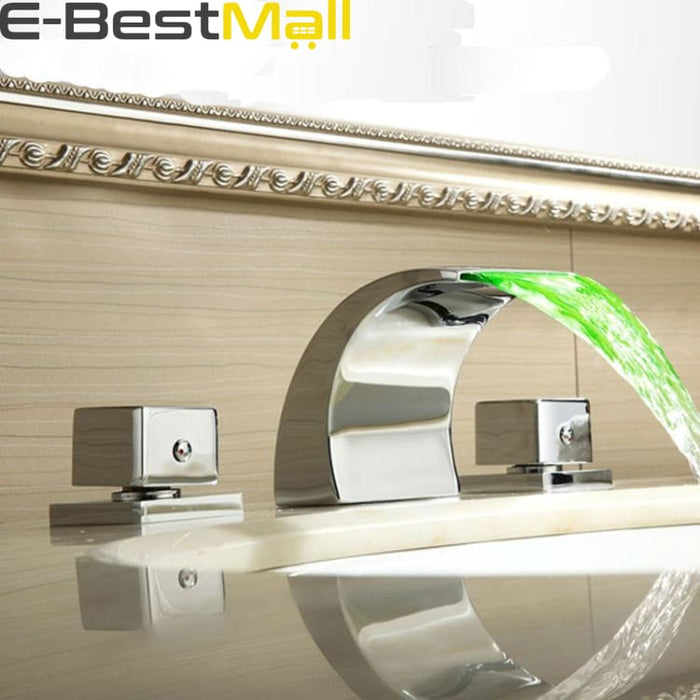 LED Basin Faucet with 3 Changes - Basin Faucets