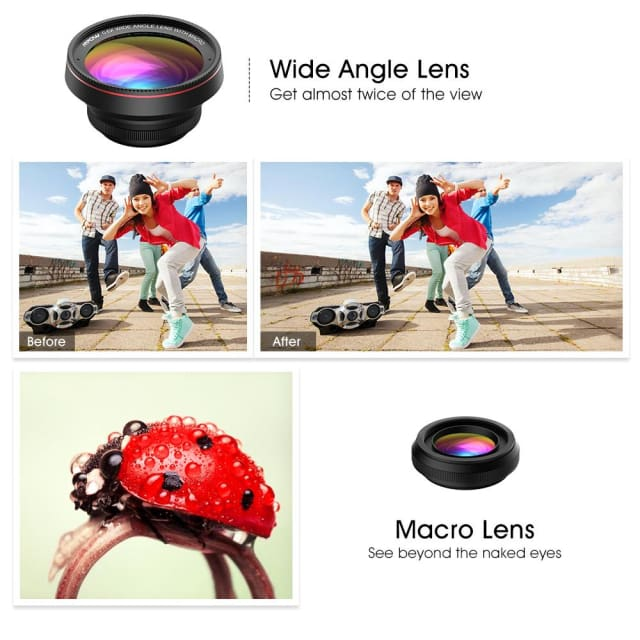 Lens High Definition for Smartphone Iphone Samsung LG Sony - Phone Lenses