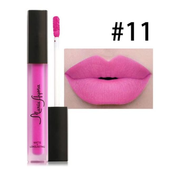 Liquid Lipstick Hot Sexy Colors - Waterproof Long Lasting - 011 - Lip Gloss