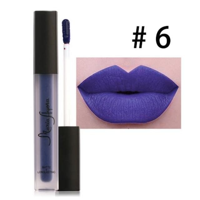 Liquid Lipstick Hot Sexy Colors - Waterproof Long Lasting - 06 - Lip Gloss