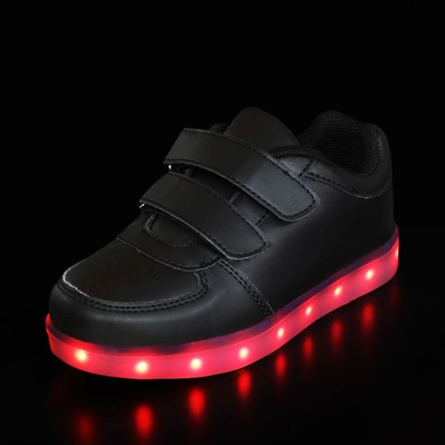 Luminous LED Shoes For Children - BLACK / 1 - Sneaker