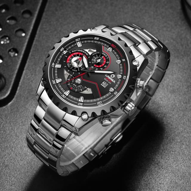 Luxury brand 2018 multifunctional mechanical mens waterproof - Mechanical