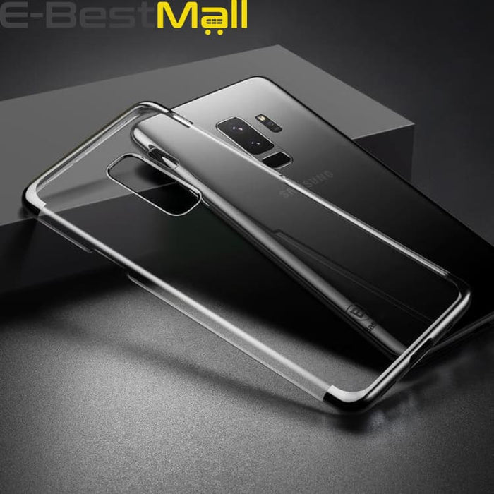 Luxury Cover Case For Galaxy S9 S9 Plus - Black / For Galaxy S9 - Fitted Cases