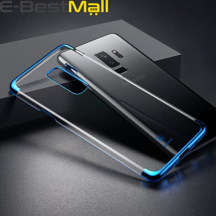 Luxury Cover Case For Galaxy S9 S9 Plus - Blue / For Galaxy S9 - Fitted Cases