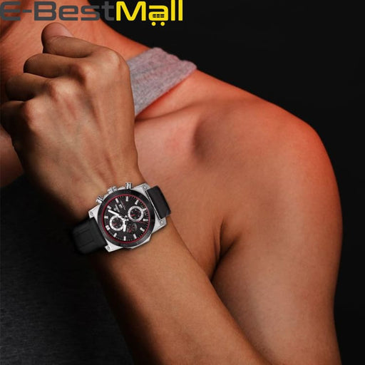 Luxury Sport watch For mens quartz and waterproof 100m - Quartz & Sport