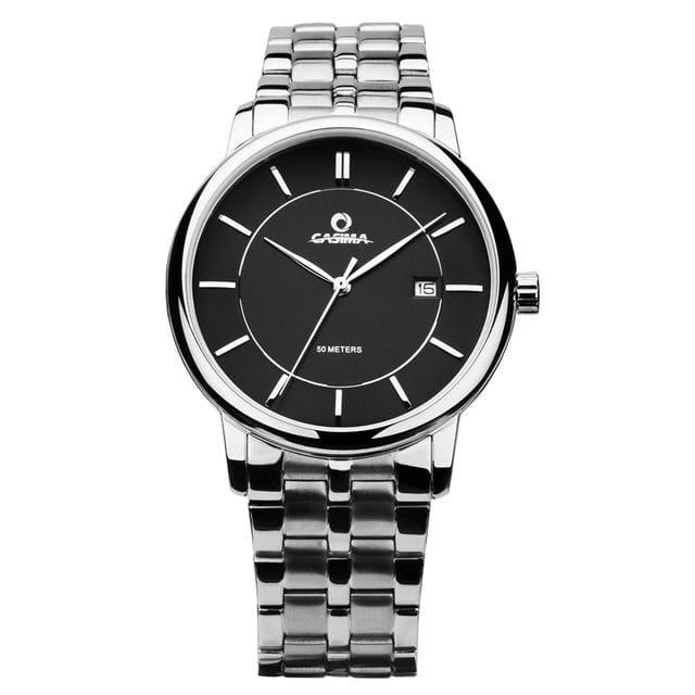 Luxury watches for men fashion dress mens quartz wrist watch waterproof - Black - Luxury watche
