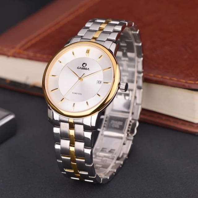 Luxury watches for men fashion dress mens quartz wrist watch waterproof - Luxury watche