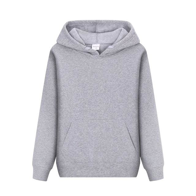 Men Hoodies sweatshirt 2018 - Light Grey / L - Hoodie & Sweatshirt