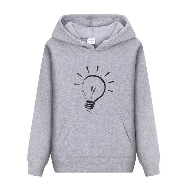 Men Hoodies sweatshirt 2018 - Light Grey5 / M - Hoodie & Sweatshirt