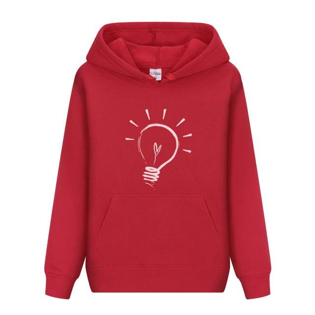 Men Hoodies sweatshirt 2018 - Red / M - Hoodie & Sweatshirt