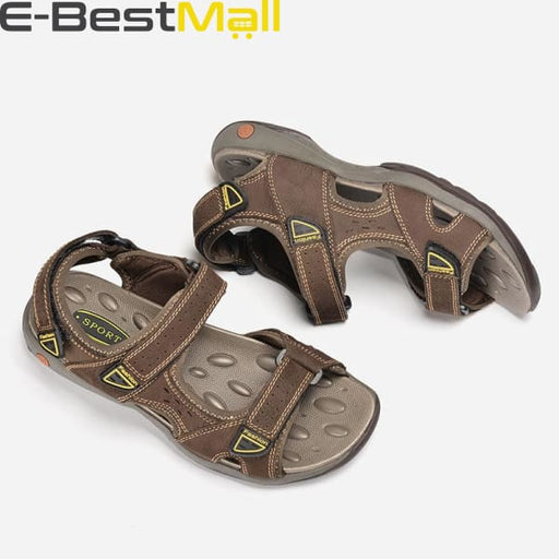 Men Summer Sandals - Leather - Mens Sandals