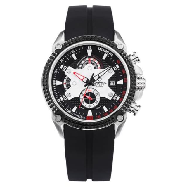 Men watches Sport 2018 Fashion Luxury Elegance quartz watch silicone strap Multi-function luminous waterproof 100m - ST 8207 SP7 - Sport