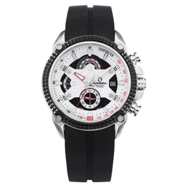 Men watches Sport 2018 Fashion Luxury Elegance quartz watch silicone strap Multi-function luminous waterproof 100m - ST 8207 SP8 - Sport