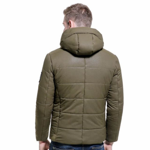 Men Winter Short Jacket - Parkas