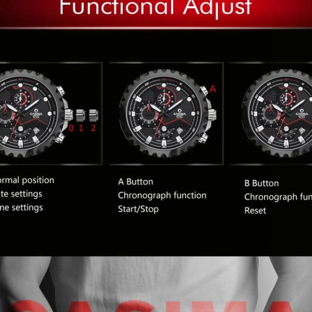 Men wrist watch sport men watches fashion quartz watch luminous waterproof watch men multifunction - Sport
