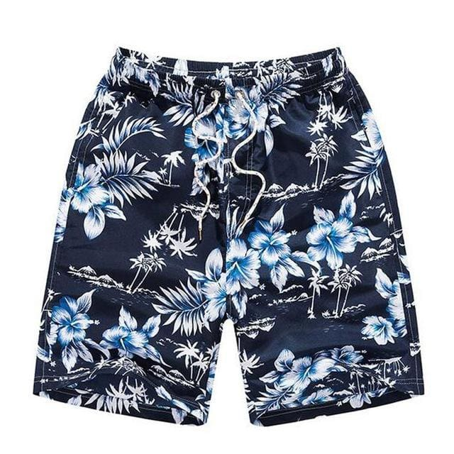 Mens Beach Shorts - Dark Blue / M - Short