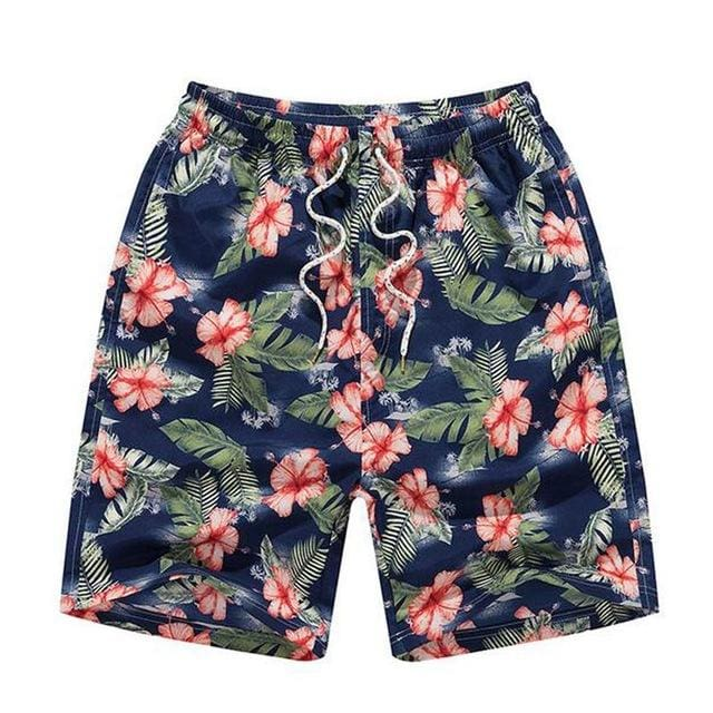 Mens Beach Shorts - Lake Blue / M - Short