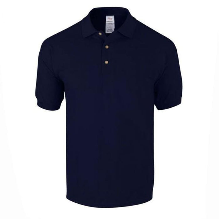 Mens Business Cotton Polo - Navy Blue / M - Polo