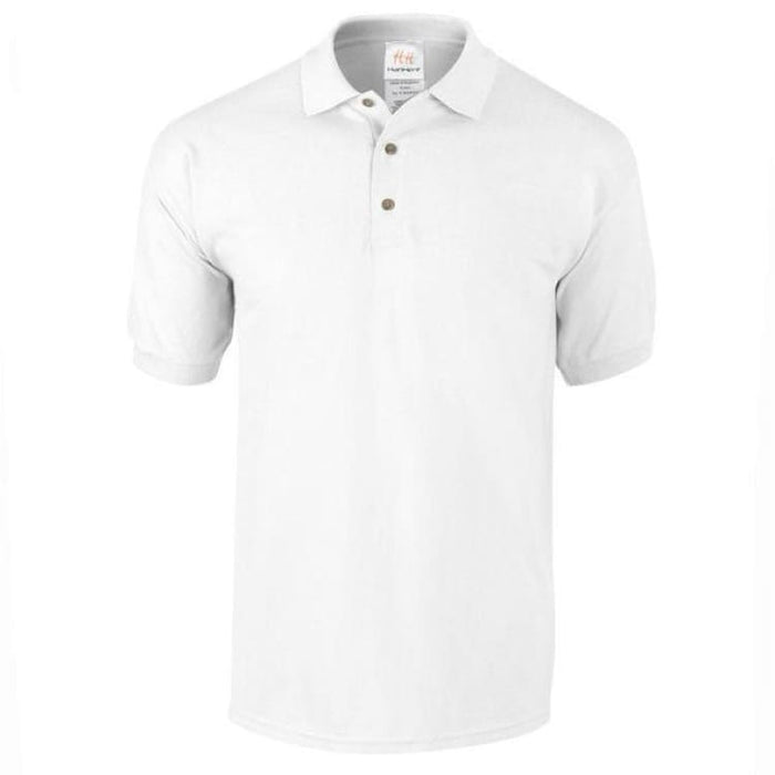 Mens Business Cotton Polo - White / M - Polo