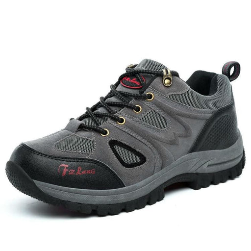 Mens Hiking Boots Suede Leather - Mens Casual Shoes