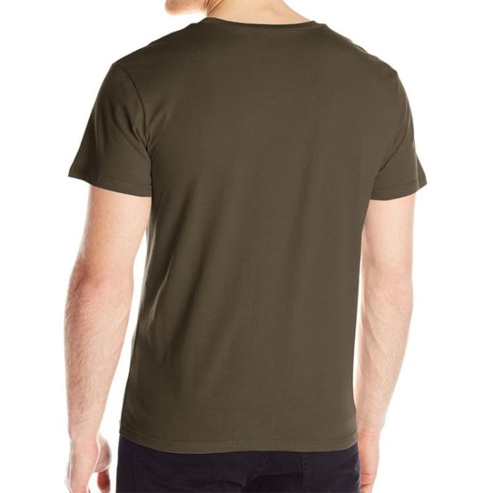 Mens T-Shirt Short Sleeve - Print Hand - T-Shirt
