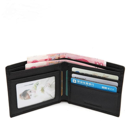 Mens Wallet Genuine Leather - Classic - Mens Wallet