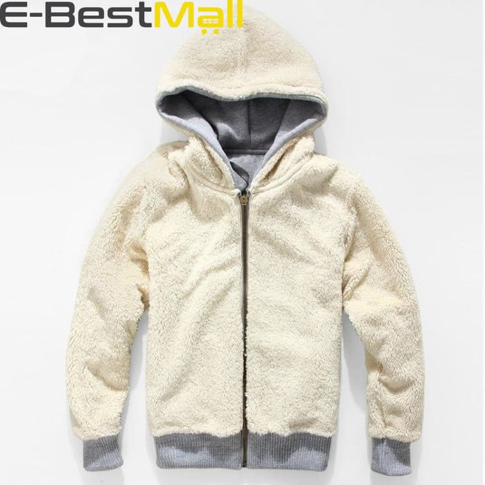 Mens Winter Coats Thick Wool Warm - Coat