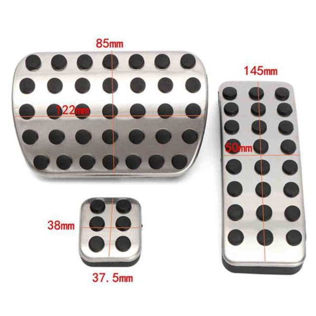 Mercedes AMG Aluminum Pedals for W176 W245 W246 W251 W164 ML GL Class - Tire Repair Tools