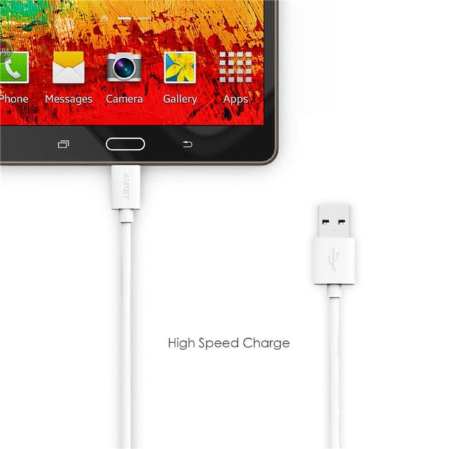 Micro USB Cable 2m - Fast Charging For Android - Mobile Phone Cables