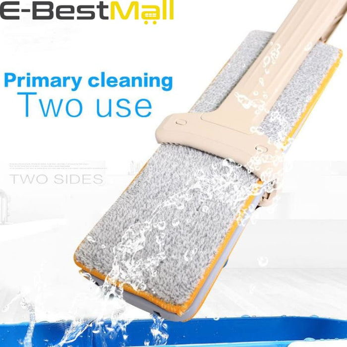Microfiber Dust Sided Mop Rotating - Mops