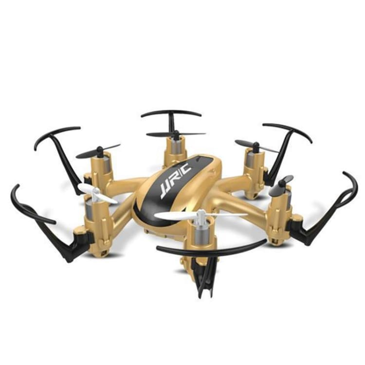 Mini Quadcopter RC Drone 2.4G 4CH 6Axis - Gold Mode 2 - Mini Hexacopter