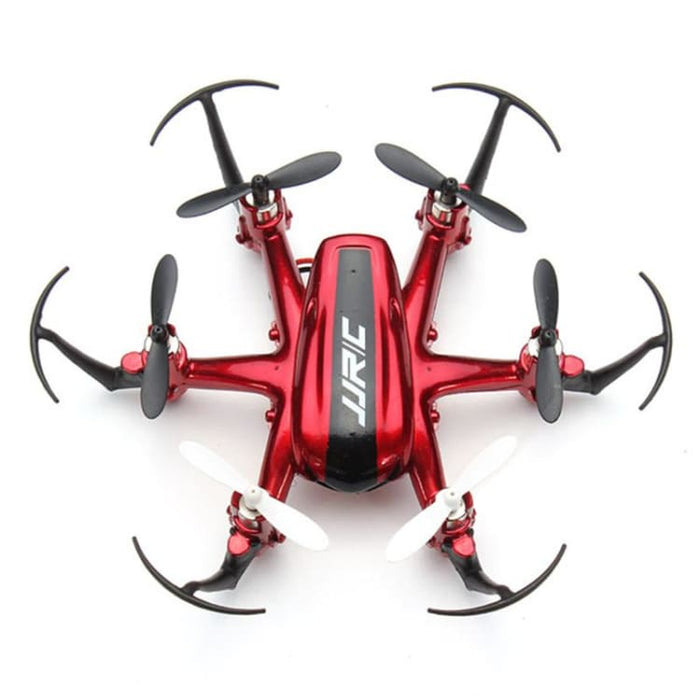 Mini Quadcopter RC Drone 2.4G 4CH 6Axis - Red Mode 2 - Mini Hexacopter