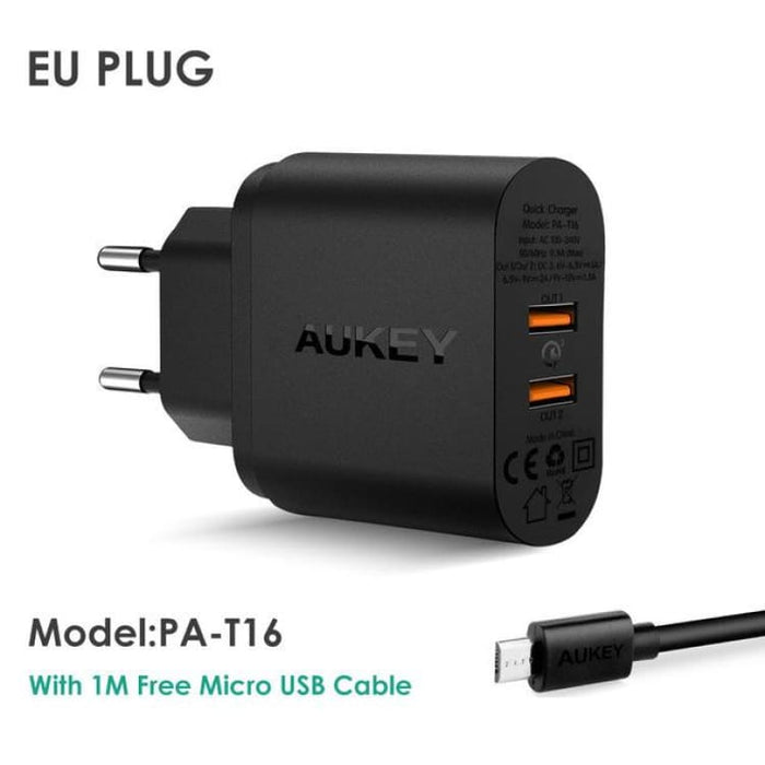 Mobile Phone Quick Charger USB for IOS and Android ( Iphone Samsung LG Sony...) - PAT16 EU Plug - Mobile Phone Chargers