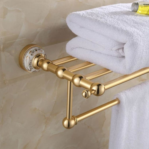Modern Wall Mounted Towel Rack - Towel Rack