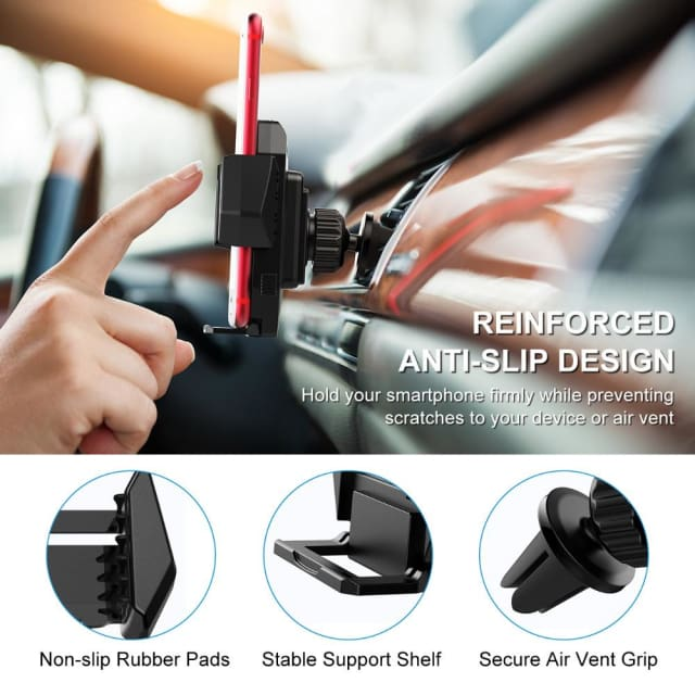 Mpow 2018 Car Mount Holder Universal car phone holder for all 4-6inch smartphone for iPhone X 8 7 6 6S Plus Samsung huawei LG Sony Xiaomi