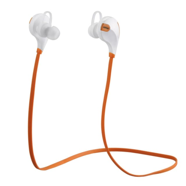 MPOW Aptx Stereo headset Swift IPX4 Sweatproof headphones bluetooth 4.0 wireless Earphones with MIC for Samsung xiaomi iphone - Yellow /