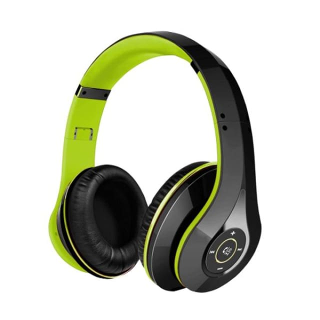 Mpow best On-Ear Wireless Headphones Bluetooth 4.0 - Black and Green / China - Headphone