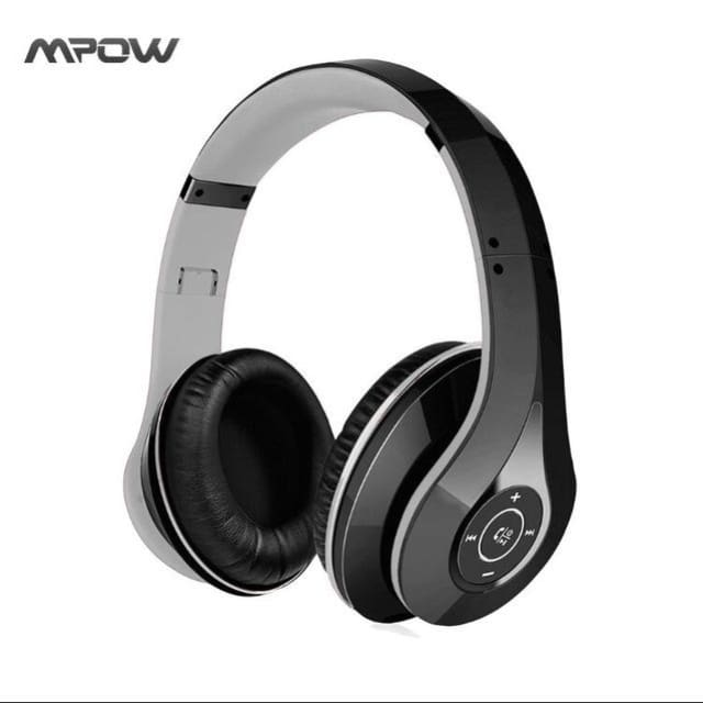 Mpow best On-Ear Wireless Headphones Bluetooth 4.0 - Black and Grey / China - Headphone