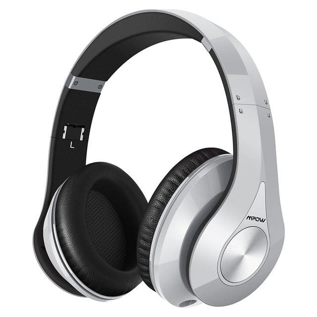 Mpow best On-Ear Wireless Headphones Bluetooth 4.0 - Silver / China - Headphone