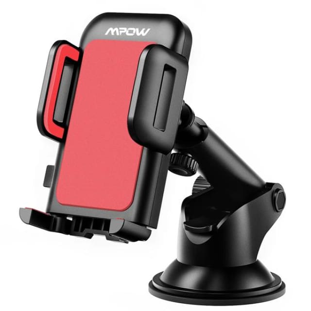 Mpow Car phone holder Adjustable Dashboard Cellphone Mount Holder with Strong Sticky Gel Pad 360 degree Rotation for cell phones - China /